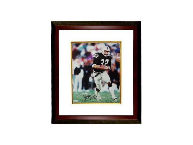 Marcus Allen signed Raiders 16x20 Photo HOF 03 Custom Framed- Allen Hologram