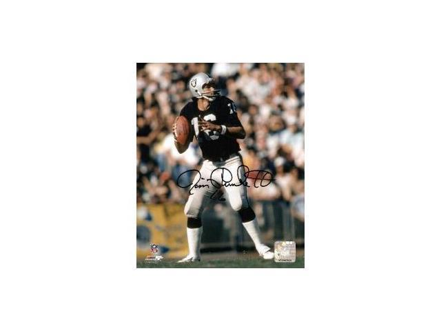Jim Plunkett signed Raiders 8x10 Photo