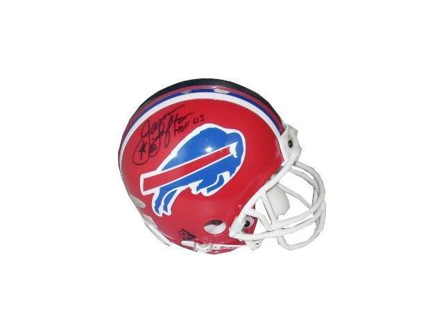 James Lofton signed Buffalo Bills Replica Mini Helmet HOF 03- Tri-Star Hologram