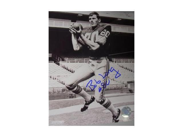 Bob Long signed Green Bay Packers 8x10 Photo