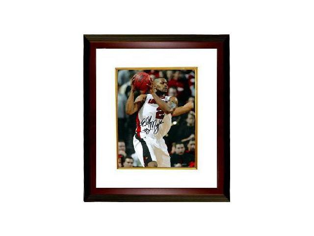 Ellis Myles signed Louisville Cardinals 8x10 Photo Custom Framed