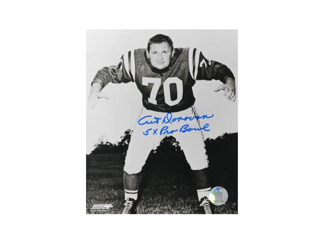 Art Donovan signed Baltimore Colts 8x10 Photo 5 X Pro Bowl
