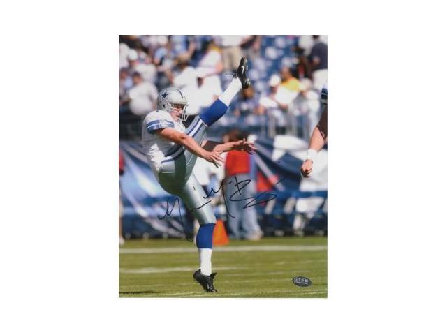 Mat McBriar signed Dallas Cowboys 8x10 Photo