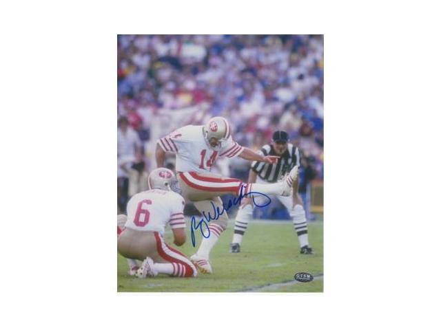 Ray Wersching signed San Francisco 49ers 8x10 Photo