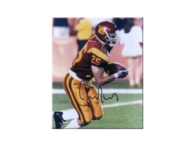 Justin Fargas signed USC Trojans 8x10 Photo