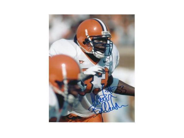 Keith Bulluck signed Syracuse Orange 8x10 Photo
