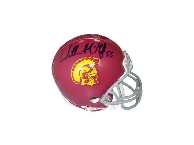 Willie McGinest signed USC Trojans Replica Mini Helmet