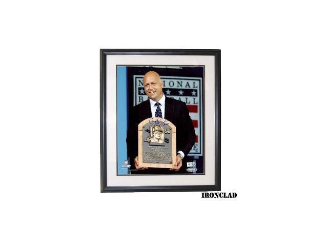 Cal Ripken, Jr. signed Baltimore Orioles HOF Induction 8x10 Photo HOF 2007 Custom Framed- MLB Hologram