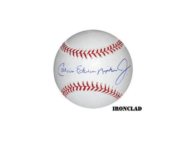 Cal Ripken, Jr. signed Official Major League Baseball Full Name