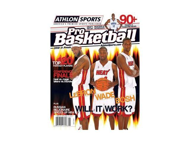 Dwyane Wade unsigned 2010 Miami Heat Athlon Pro Basketball Annual Magazine