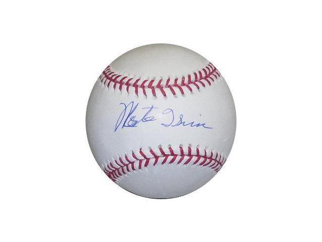 Monte Irvin signed Official Major League Baseball
