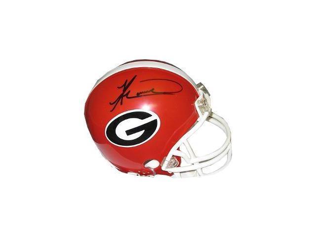 Knowshon Moreno signed Georgia Bulldogs Replica Mini Helmet