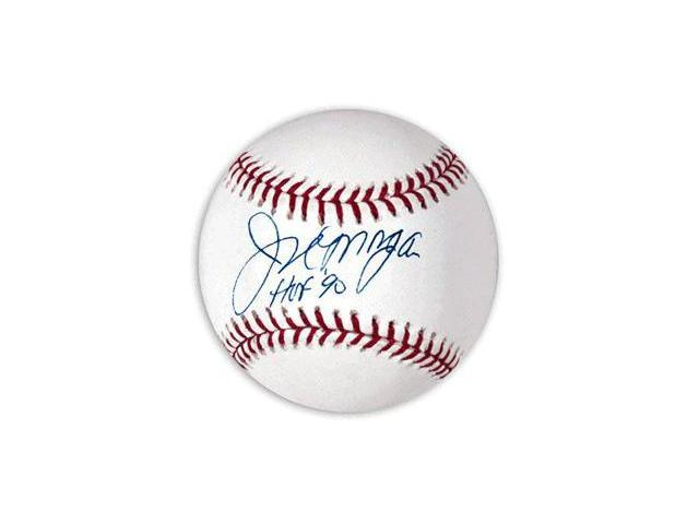 Joe Morgan signed Official Major League Baseball HOF 90- JSA Hologram