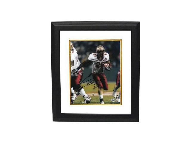 Lorenzo Booker signed Florida State Seminoles 8x10 Photo Custom Framed