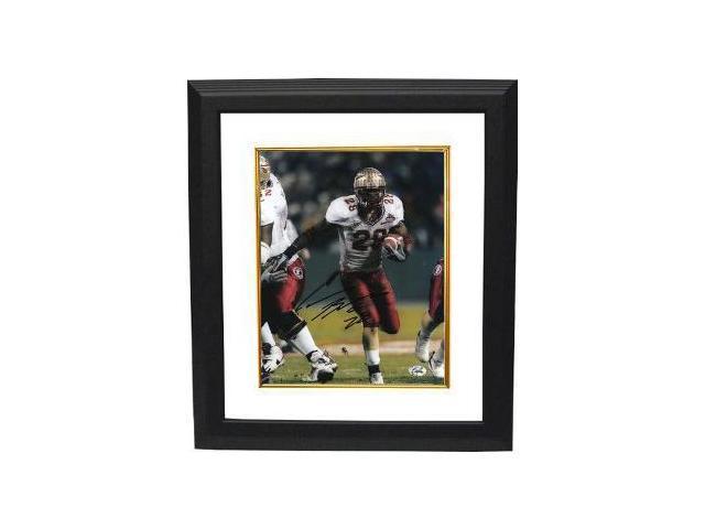 Lorenzo Booker signed Florida State Seminoles 8x10 Photo Custom Framed