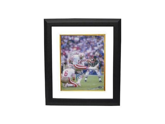 Ray Wersching signed San Francisco 49ers 8x10 Photo Custom Framed