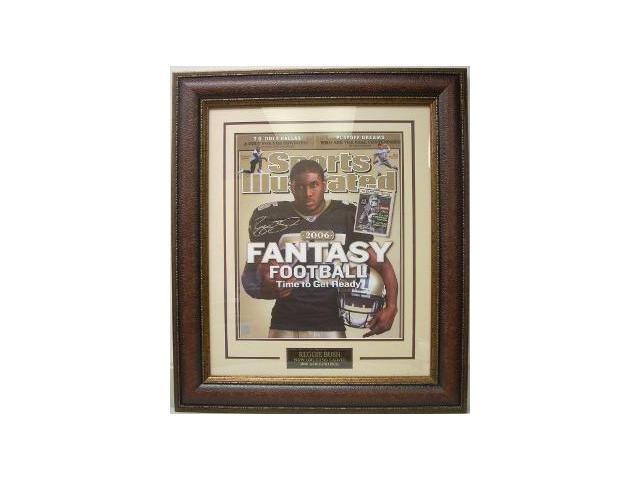 Reggie Bush signed New Orleans Saints 16x20 SI Cover Custom Framed- Bush Hologram