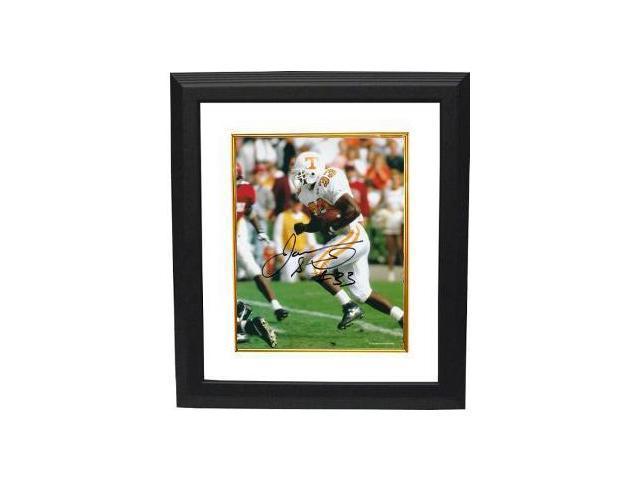 James Stewart signed Tennessee Vols 8x10 Photo Custom Framed