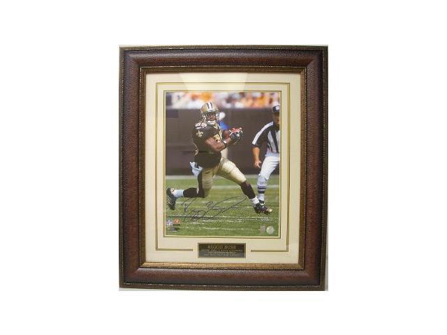 Reggie Bush signed New Orleans Saints 16x20 Photo Custom Framed- Bush Hologram