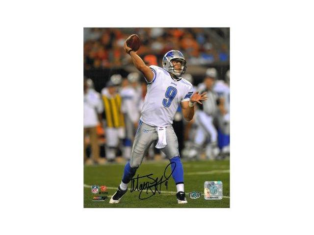 Matthew Stafford signed Detroit Lions 8x10 Photo- Stafford Hologram