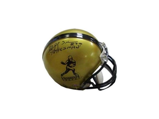 Billy Sims signed Heisman Mini Helmet 78 Heisman