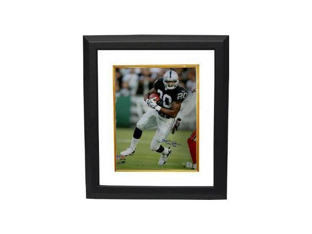 Darren McFadden signed Oakland Raiders 16x20 Photo Custom Framed- McFadden Hologram