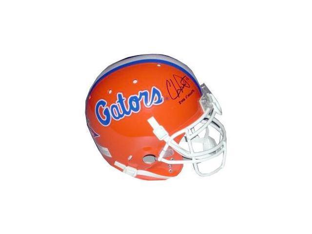 Chris Leak signed Florida Gators Full Size Authentic Helmet 2006 Champs
