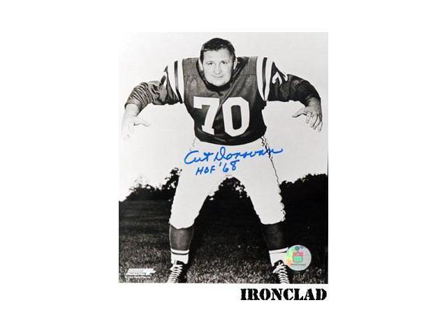 Art Donovan signed Baltimore Colts 16X20 Photo HOF 68