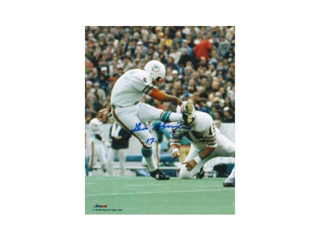 Garo Yepremian signed Miami Dolphins 8x10 Photo 17-0