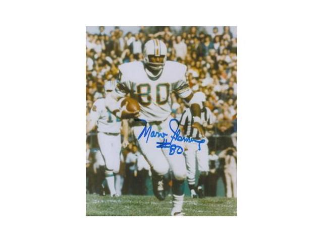 Marv Fleming signed Miami Dolphins 8x10 Photo