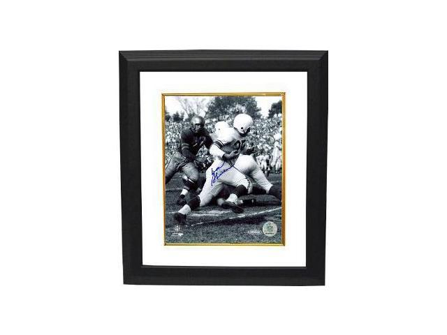 Don Shula signed Baltimore Colts 16X20 Photo Custom Framed