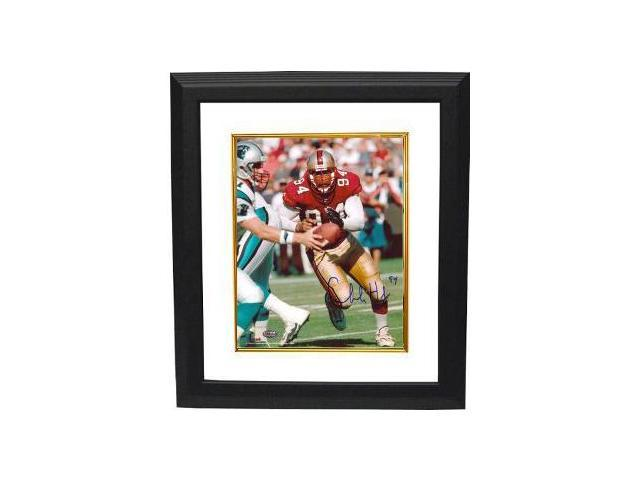 Charles Haley signed San Francisco 49ers 8x10 Photo Custom Framed