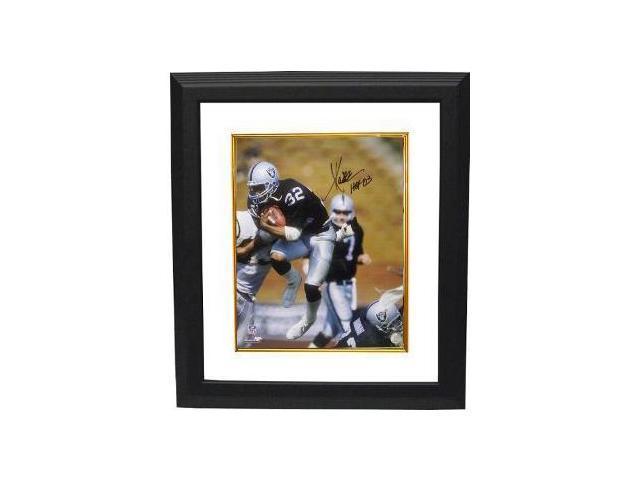 Marcus Allen signed Raiders 16x20 Photo HOF 03 Custom Framed- Allen Hologram