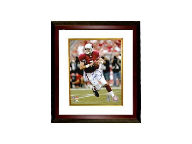 Matt Leinart signed Arizona Cardinals 8x10 Photo Custom Framed- Leinart Hologram