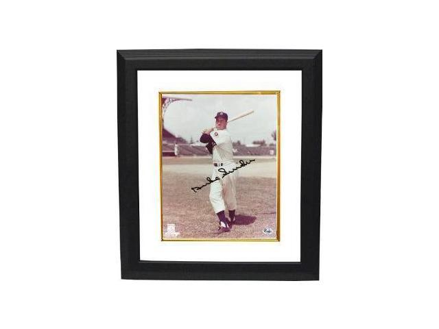 Duke Snider signed Brooklyn Dodgers 8x10 Photo Custom Framed