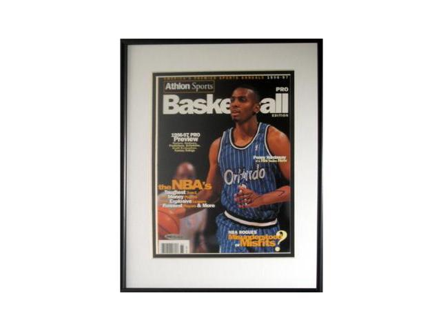 Penny Hardaway signed Orlando Magic Athlon Cover Framed- UDA Hologram