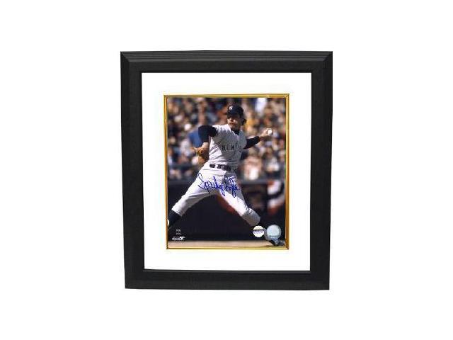 Sparky Lyle signed New York Yankees 8x10 Photo Custom Framed