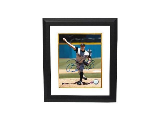 Brandon Webb signed Arizona Diamondbacks 8x10 Photo Custom Framed- Webb Hologram