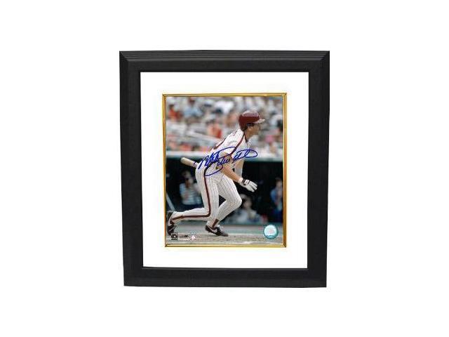 Mike Schmidt signed Philadelphia Phillies 8x10 Photo Custom Framed