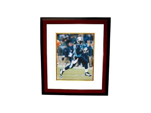 Chris Johnson signed Tennessee Titans 16x20 Photo Custom Framed