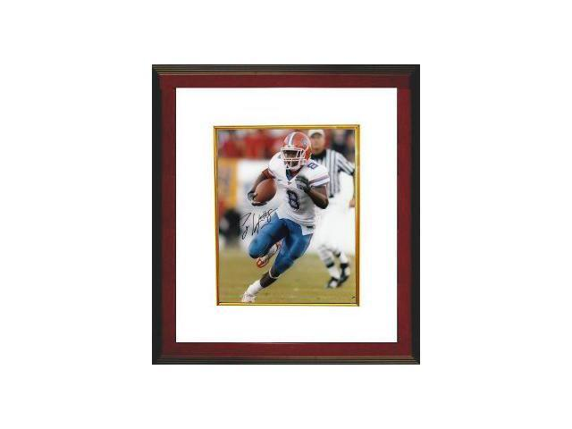 Percy Harvin signed Florida Gators 8x10 Photo Custom Framed