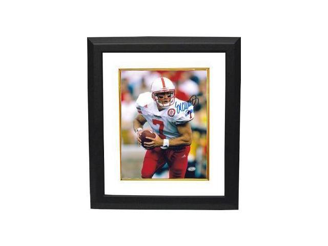 Eric Crouch signed Nebraska Cornhuskers 8x10 Photo 2001 Custom Framed