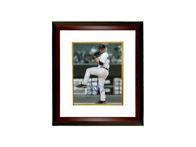 Jeremy Bonderman signed Detroit Tigers 8x10 Photo Custom Framed