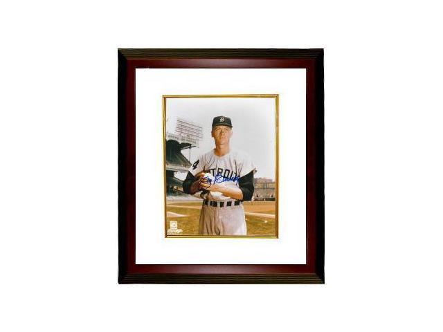 Jim Bunning signed Detroit Tigers 8x10 Photo Custom Framed