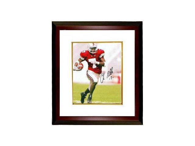 Chris Gamble signed Ohio State Buckeyes 8x10 Photo Custom Framed