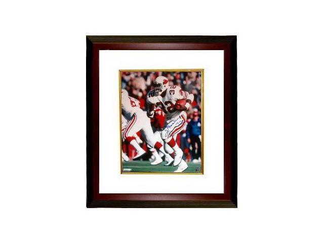 Ottis Anderson signed Cardinals 16x20 Photo Custom Framed