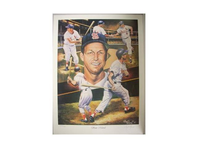 Stan Musial unsigned St. Louis Cardinals 18x24 Lithograph