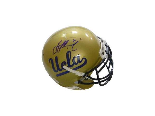 Troy Aikman signed UCLA Bruins Authentic Mini Helmet