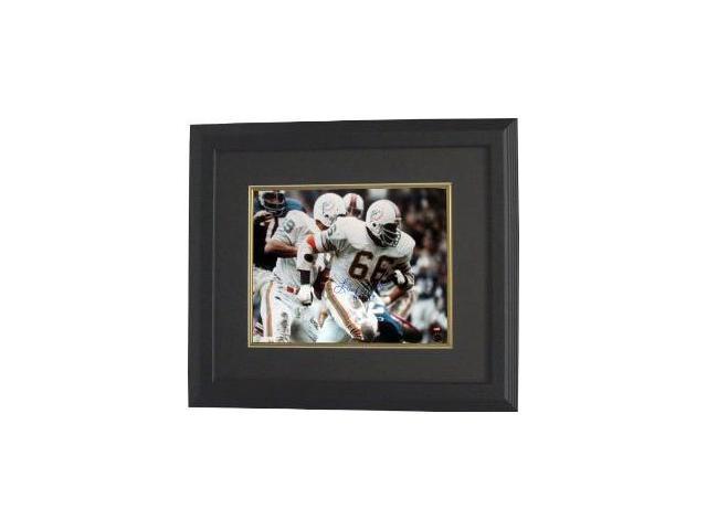 Larry Little signed Miami Dolphins 16x20 Photo Custom Framed HOF