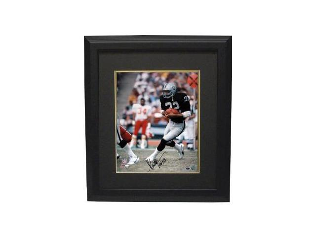 Marcus Allen signed Oakland Raiders 16x20 Photo HOF 03 Custom Framed